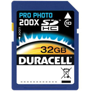 Duracell DU-SD1032G-C 32 GB Secure Digital High Capacity (SDHC) - 1 Card