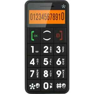 Just5 J509BLACK - Cell Phone - Black