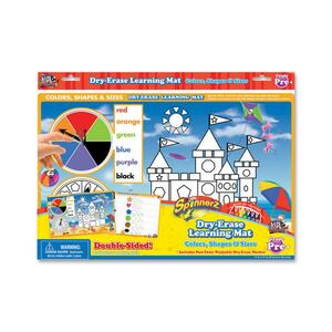The Board Dudes SpinnerZ Dry-erase Learning Mat