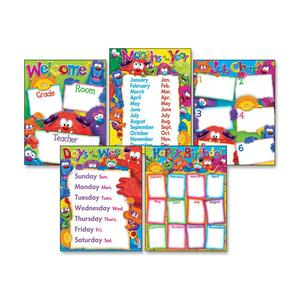 Trend Classroom Basics Furry Friends Learning Chart