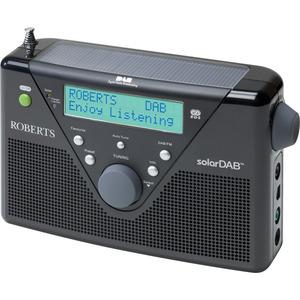 Roberts Radio SOLARDAB2BK Radio Tuner