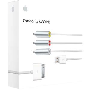 Apple MC748ZM/A Composite Audio/Video Cable