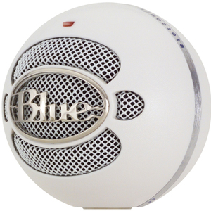 Blue Microphones SNOWBALLBRALU BLUE SNOWBALL USB MICROPHONE BRSHA Audio Electronics
