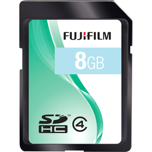 FujiFilm 600008956 8GB SDHC, CL4 Flash Storage