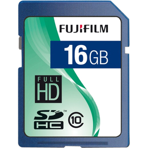 FujiFilm 600008926 SECURE DIGITAL, 16GB SDHC, CLASS 10 Flash Storage