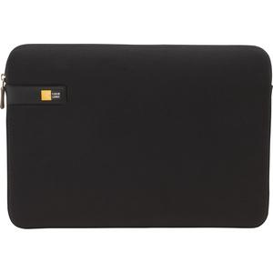 "Case Logic LAPS-113 Carrying Case (Sleeve) for 13.3"" Notebook - Black - Ethylene Vinyl Acetate (EVA), Foam Interior - Textured - 10"" Height x 14"" Width x 1.1"" Depth"