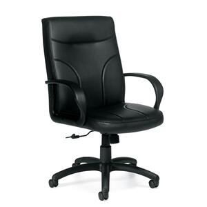 CHAIR TILTR M/B BLACK E-PLUS ERGO MOCK LEATHER