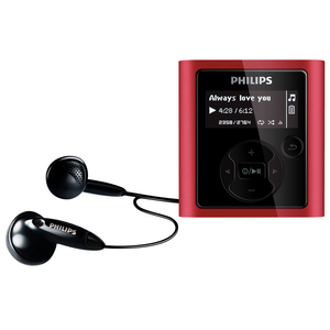 Philips GoGear RaGa SA1983A 8GB Flash MP3 Player