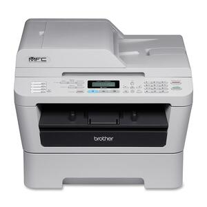 Brother MFC-7360N Laser Multifunction Printer - Monochrome - Pla