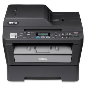 Brother MFC-7460DN Laser Multifunction Printer - Monochrome - Pl