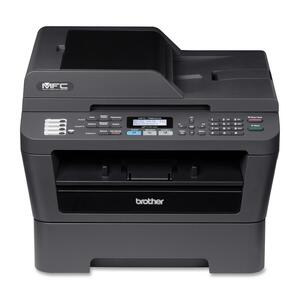 Brother MFC-7860DW Laser Multifunction Printer - Monochrome - Pl