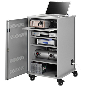 Nobo Multimedia Cabinet with Projector Shelf