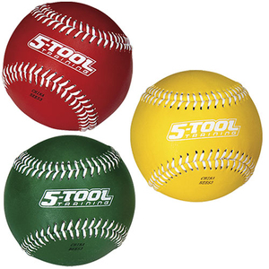 Rawlings 5TWEIGHTBOX3 Weighted Baseballs 3 Pack