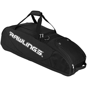 Rawlings PPWB-B Bat Bag Wheeled - Black