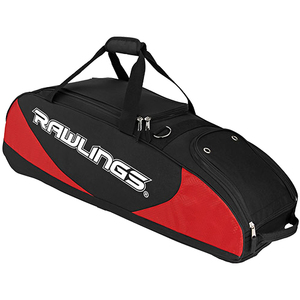 Rawlings PPWB-S Bat Bag Wheeled - Red