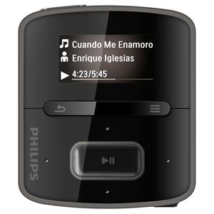 Philips GoGear RaGa SA3RGA04KN 4GB Flash MP3 Player