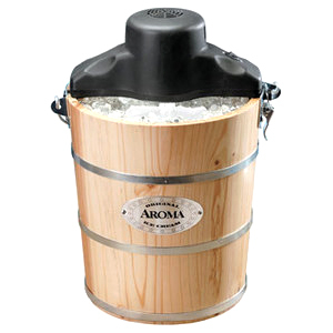 Aroma AIC-204EM - 4 Quart Traditional Ice Cream Maker