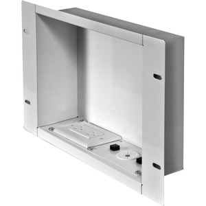 Peerless-AV Recessed Cable Managementand Power Storage Accessory Box