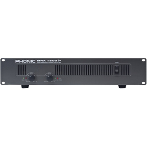 Phonic MAX 1500 Plus Power Amplifier