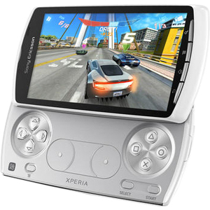 Sony Mobile XPERIA PLAY Smartphone - 400MB - White