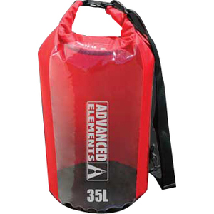 Advanced Elements AE3005 ROLLTOP DRY BAG - 35L RED Camping