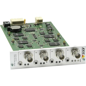 AXIS Communications 0354-001 AXIS Q7414 VIDEO ENCODER BLADE FOUR Video Encoder