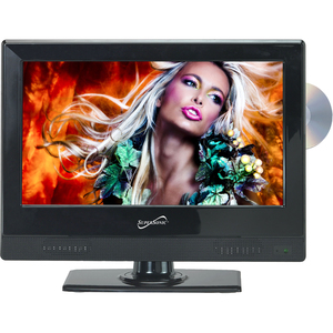 "Supersonic SC-1312 - 13"" LED TV with DVD 720p 8ms"