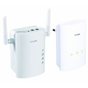 D-Link DHP-W307AV PowerLine Homeplug AV Wireless N Extender Kit