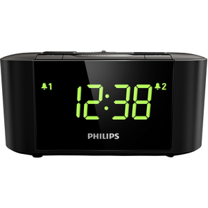 Philips Big Display Clock Radio