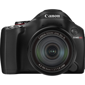 Canon 5251B001 Powershot  SX40 HS, 12.1MP, Camera Hardware