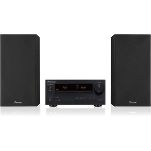 Pioneer Micro Sound System with CD, USB, FM Tuner and USB (2 x 15 W) (Black)