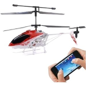 Wireless input iSuper Helicopter