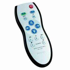 Philips 2-in-1 Universal Remote Control