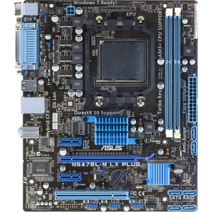 Asus M5A78L-M LX PLUS Desktop Motherboard - AMD 760G Chipset - S