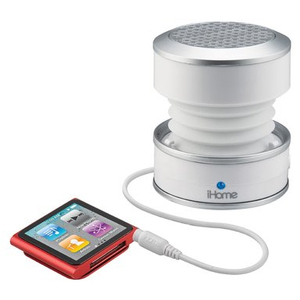iHome IHM61W Color Changing Mini Speaker