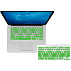 KB Covers CB-M-GREEN - Checkerboard Keyboard Cover for MacBook - Green