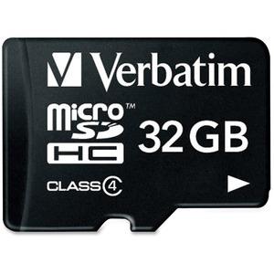 Verbatim 32 GB microSD High Capacity (microSDHC) - 1 Card/1 Pack