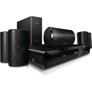 Philips Immersive Sound HTS3551 Home Theater System