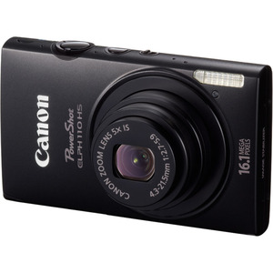Canon 6039B001 Powershot Elph110HS Black 16.1MP Camera Hardware
