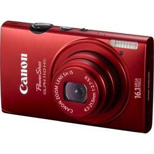 Canon 6042B001 Powershot Elph110HS Red 16.1MP CMOS Camera Hardware