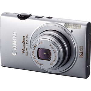 Canon 6036B001 Powershot Elph110HS Silver 16.1mp Camera Hardware