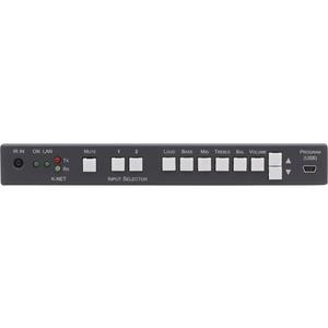 Kramer 906 2x1 Stereo Audio Amplifier & Switcher (6.8 Watts Per Channel)