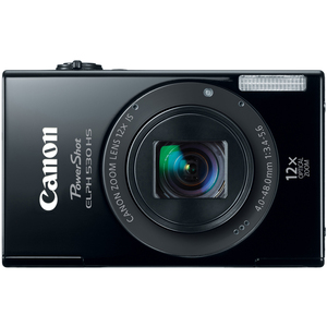 Canon 6160B001 PowerShot ELPH 530HS Black 10.1MP Camera Hardware