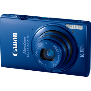 Canon 6030B001 PowerShot ELPH 320HS Blue 16.1MP Camera Hardware