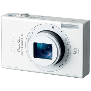 Canon 6163B001 PowerShot ELPH 530HS White 10.1MP Camera Hardware