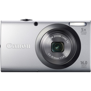Canon 6184B001 PowerShot A2300 Silver 16MP Camera W Camera Hardware