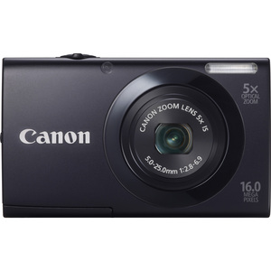 Canon 6185B001 PowerShot A3400 IS Black 16.0MP 3.0