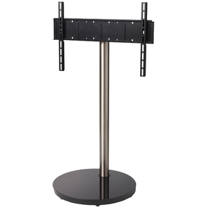 B-Tech Flat Screen TV Stand with Round Base