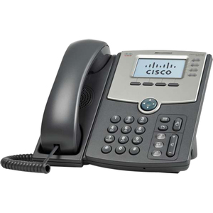 Cisco SPA514G 4-Line IP Phone with 2-Port Gigabit Ethernet Switch & LCD Display