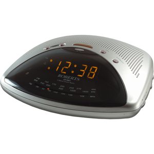 Roberts Radio 3 Band Single Alarm Clock Radio